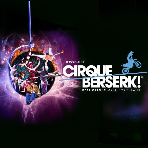 Win Tickets to Cirque Berserk - Brighton